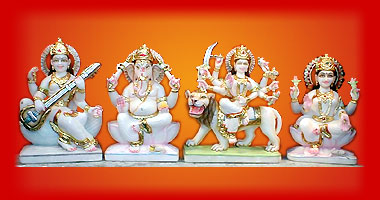 Lord Krishna with Kalia Naag statues for sale